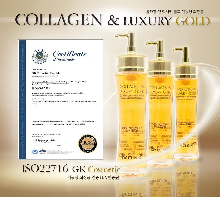 Collagen luxury gold 3w clinic có tốt không